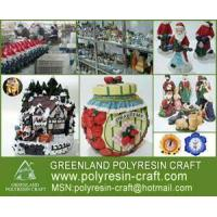 China Polyresin Craft-Christmas Village Houses wholesale