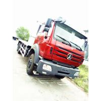 China Red Color Prime Mover Truck For Transporting , Beiben 6x4 16 Ton Flatbed Truck on sale