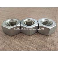 China Grade 8.8 10.9 Steel Hex Nuts DIN 555 Zinc Plated And Hot Galvanizing Surface wholesale