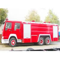 China 10 Wheelers 12.00R20 tyre Water tank Fire Fighting Trucks with EUROIII Emission on sale
