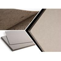China Eco - Friendly Grade B Thick Strawboard Paper Two Sided Grey Uncoated For Printing wholesale