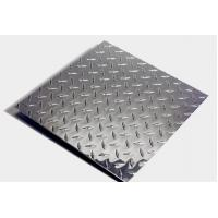 China 5754 Aluminum tread checkered plate for vehicle steps wholesale
