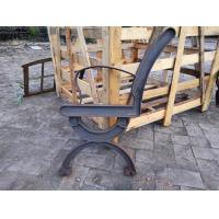 China Antique Cast Iron Garden Bench Legs With Wood Slats For Cast Metal Garden Bench wholesale