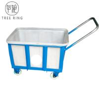 China Rotomolding Durable Hand Poly Box Truck Plastic Mobile Nesting Container 90L on sale