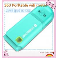 China 360 Free Pocket WiFi Router 360 Portable USB WiFi Router Available for Computer Laptop Tablet PC wholesale