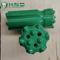 Hard Rock Stone Drilling Tools , Tungsten Carbide Thread Button Bit