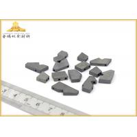China Hard Metal DCMT Carbide Inserts , Internal Thread Cutting Tool With CVD Coating wholesale