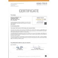 Guangzhou Qiansili Textile Co., Ltd. Certifications