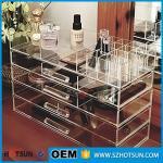 China Acrylic cosmetic makeup organizer/ makeup brush display/ makeup brush holder wholesale