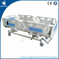China Adjustment 750mm ICU Electric Hospital Beds With 3 - Functions Home Care Use on sale