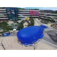 China Kids Entertainment Whale Theme 0.55mm Fun City Inflatables on sale