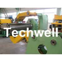 China Fully Automatic Combined Steel Metal Slitting Cutting Machine With Control System wholesale