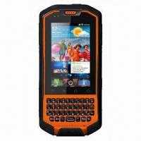 China Rugged Android OS Smartphone with Walkie Talkie, Dual SIM and IP67 Waterproof Grade wholesale