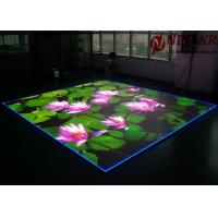 China P3.91 Programmable LED Floor Display Seamless Stitching For Disco Club DJ Events wholesale