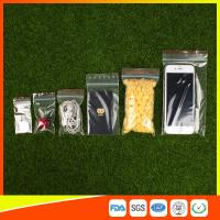 Quality Easy Storage Packing Ziplock  Bags 1-4 mil Thickness food grade and non-toxic for sale