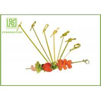 China Healthy Bbq Vegetable Skewers , Yakitori Roasting Wooden Meat Skewers For Party wholesale