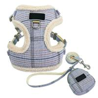 China Soft Cat Harness Collar / Cosy Dog Vest Harness And Leash Set With Cute Bags on sale