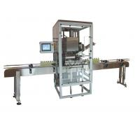 China Convenient Control Automatic Capping Machine With Man Machine Interface wholesale