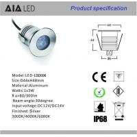 China Stainless steel 3x1W LED RGB Underwater light /led pool lamp led swimming pool light wholesale