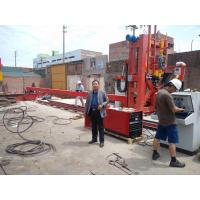 China Automatically Big Pole Pipe Making Machine / Pipe Close And Welding Machine wholesale