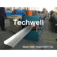 China Hydraulic Plate Rolling 4KW Main Power Z Purlin Roll Forming Machine wholesale
