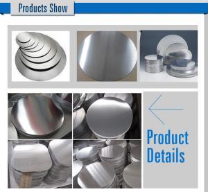 China Cooking Pot 1100 Aluminum Circle Blanks Polishing Mill Finish 3mm Thickness wholesale