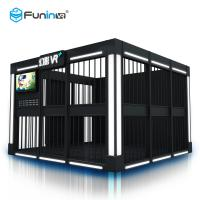 Buy cheap 9D Shooting Game VR Simulator Arcade Machine 4 Players For 7 Years Old + Kids from wholesalers