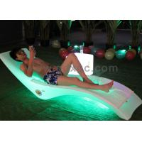 China Outdoor Using Plastic waterproof sun Lounge for hotel swimming pool wholesale
