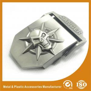 China Large Cool Mens Custom Belt Buckles GX0123 Plating , Embossing wholesale