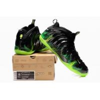 China Nike Air Foamposite One shoes black green wholesale
