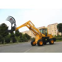 China Lifting height  5.1m straw / grass loader machine , low noise wholesale