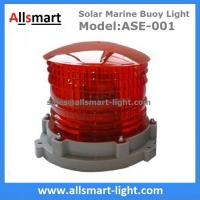 China Red Flash Solar Marine Light 3-5km 2-3NM Visibility Solar Warning Aviation Light Solar Beacon Light Solar Floating Signs wholesale