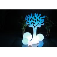 China Home Decoration Outdoor Garden Decor Plastic Christmas Tree With Led Light wholesale