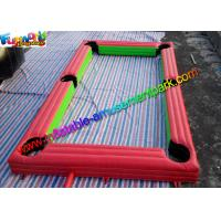 China Popular Inflatable Soccer Field , interactive outdoor games With PVC wholesale