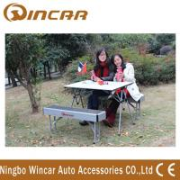 China Aluminum Folding Outdoor Camping Tables Expandable for picnic wholesale