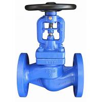 China NR DN80 PN16 Screw Down Check Globe Valve FTF-310 GGG-40.3 Flange Dia 200 – 8 Holes wholesale