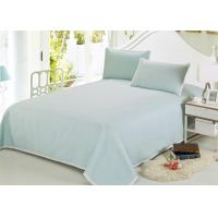 China Multiple Colors Luxury Bed Sets , 3 Pcs Lightweight Fabric Softest Cotton Sheets wholesale