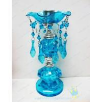 China CH (47) Acrylic mosaic hurricane candle holders wholesale