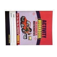 Quality Soft Cover Full Color Textbook Printing with Saddle Stitch Binding for sale