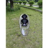 China Light Weight Clear Plastic Kayak Polycarbonate Transparent  Eco - Friendly on sale