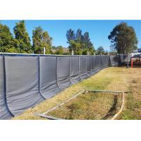 China 40dB Portable Noise Barriers for Temporary Fencing Panels easy to secured with construction fence wholesale