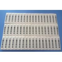 Quality Custom Tamper Evident Jewellery Barcode Labels Non - Reactivatable Format for sale