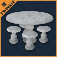 Marble Coffee Table Furniture Village: Elegant White Marble Garden Ornaments With Round Marble