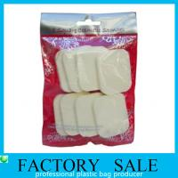 Hanging Hole Clear Opp Flat Style Plastic Ziplock Bags For