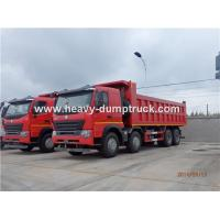 Quality HOWO A7 8X4 12 Wheeler Heavy Duty Dump Truck With 30m³ Cubage Capacity For for sale
