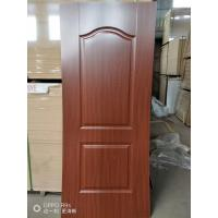 Height 2150mm HDF Door Skin 3mm / 4mm Thickness Natural Veneer Surface