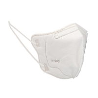 Buy cheap White Small 5 Layers KN95 Kids Face Mask For Baby Daily Life Use from wholesalers