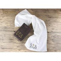 China 5 Star Colorful Luxury Hotel And Spa Bath Towels Jacquard Quick Dry Soft wholesale