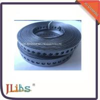 China Wood  Plumbers Tape Metal Punched Perforated Metal Strap / Steel Fixing Band wholesale