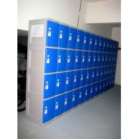 China 8 Tier Blue ABS Plastic Lockers Swimming Pool Lockers With Combination Lock wholesale